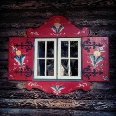"""Kerbits in Dalarna, Sweden; kurbits = gourd """"kurbits"""" is today mostly used for furniture painting or Dala horses with no gourds at all. Scandinavian Artwork, Scandinavian Cottage, Scandinavian Furniture, Scandinavian Design, Norwegian Rosemaling, Swedish Style, Winterthur, Thinking Day, Doors"""