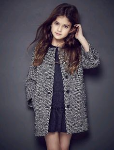 Trendy Ideas for moda infantil invierno girls Fashion Kids, Little Girl Fashion, Look Fashion, Autumn Fashion, Trendy Fashion, Little Fashionista, Kid Styles, Baby Dress, Girl Outfits