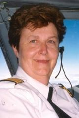 Rosella Bjornson (b. 1947 Lethbridge, Alberta)   At 17 she completed her Private Pilot's License in just 2 months! In 1973 she was hired as a First Officer with Transair. She was the first woman to be hired by a commercial air line in Canada and first female member of the Canadian Air Line Pilots Association.  In 1990 she became the first woman to be promoted to Captain with a major Canadian air carrier. She is a member of the Canada's Aviation Hall of Fame.