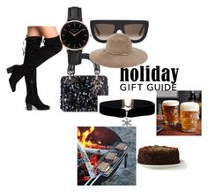 """""""The best BFF gift"""" by aamila12345678 ❤ liked on Polyvore featuring CÉLINE, Eugenia Kim, Topshop and Lands' End"""