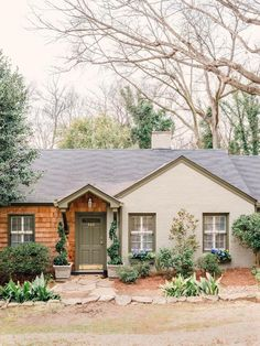 The HGTV Spring House is a cute cottage with lots of charm, but it needed some cheery color for spring.  Here are a few simple curb appeal updates we did for the home that you can bring to your own space-->http://hg.tv/y8kf