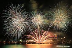 Cette année, on ajoute 5 minutes aux spectacles pyrotechniques! À partir de 22h, les feux d'artifice éclateront dans le ciel pendant 25 minutes! À ne pas manquer! #GFLQ
