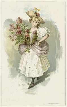 Girl with Lilacs   Flickr - Photo Sharing!