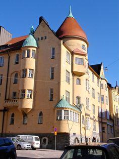 Olofsborg house in Helsinki, Finland. | https://fi.wikipedia.org/wiki/Olofsborg