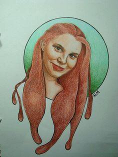 Jen.  Colored pencil