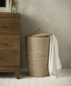 Rattan laundry basket - Laundry baskets from LOMBOK