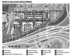 River Edge Park plans, Council Bluffs, Iowa