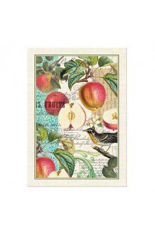 Michel Design Works Teatowel - Sweet Apple Theres nothing shy or demure about our kitchen towels The bold naturalhistory prints demand attention and deserve it An. Please Click the image for more information.