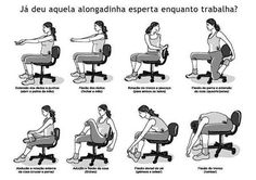 How Office Yoga Can Improve Well Being alongamentos no trabalho