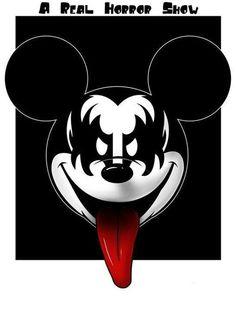 Mickey kiss