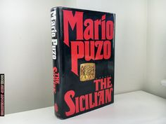 The Sicilian by Mario Puzo - 1984 First Edition / 1st Printing - Hardcover http://etsy.me/2o0OU0q #booksandzines #book #sicilian #thegodfather #marlonbrando #1stedition #goodfellas #mob #mafia