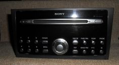 GENUINE FORD MONDEO MK3 SONY 6 CD CHANGER RADIO UNIT WITH CODE