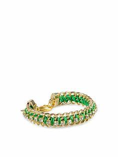 Rhinestone Bracelet - Timi - Grøn - Smykker - Tilbehør - Kvinde - Nelly.com  #Timi #Accessories #Green #Summer #Style #Chic