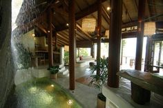 Koh Samui Villa Integrates Tropical Paradise Into Design -