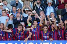 0-3: El Juvenil del Barça hace historia en Nyon