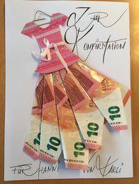 Geldgeschenke - New Ideas Birthday Goals, Birthday Cards, Craft Gifts, Diy Gifts, Diy Arts And Crafts, Paper Crafts, Don D'argent, Money Bouquet, Creative Money Gifts