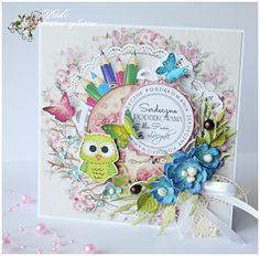 kartka dla pani Kids Cards, Diy And Crafts, Box, Frame, Scrapbooking, Decor, Projects, Picture Frame, Decorating