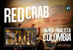 Red Crab finalista por #SanAndresIslas en el #RototomContestLatino #colombia