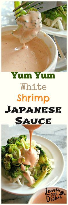 Yum Yum, White, Shrimp or Japanese Steak House Sauce - whatever you want to call it - this is the recipe.  Just like your favorite Japanese Steak House.  Easy. Whip some up today!  http://www.loavesanddishes.net