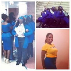 OMICRON CHI Chapter of SGRHO - Chicago State University - Fall 2014!