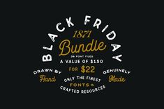 1871 Black Friday Bundle! by 1871 Project on @creativemarket