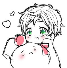 Hetalia Mochitalia and chibi Spain