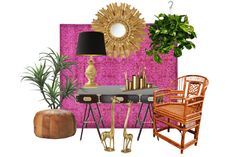 Get the Look: Chic and Colorful Boho Home Office