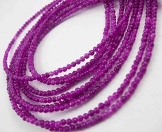 Beads One - Dyed Jade Round Violet 4mm, $4.50  #beading #supplies wholesale jewelry making gemstones stone #beads(http://www.beadsone.com/gemstones/dyed-jade-round-violet-4mm.html)