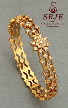 CLOSE SETTING DIAMOND BANGLE @ SRI BALAJI JEWELLERS & EXPORTERS