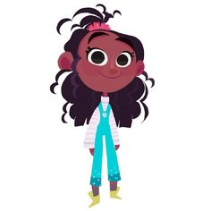 Introducing my main character for my children's book project this yea