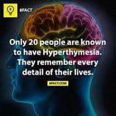 hyperthymesia  Visit us on goimprovememory.com  Via  google images  #memory #memorys #memorylane #memorybox #memoryfoam #memories #memoryloss #improvememory #memoryday #memoryhelp #memorybook