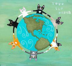 Cats make the world go 'round! <3 <3