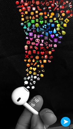 Iphone Wallpaper Music, Cute Emoji Wallpaper, Rainbow Wallpaper, Sad Wallpaper, Cute Disney Wallpaper, Iphone Background Wallpaper, Pretty Wallpapers Tumblr, Cute Wallpapers, Instagram Emoji