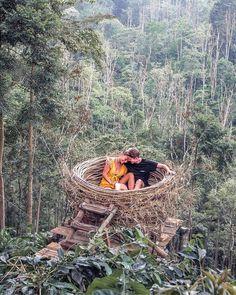 Wanagiri Hidden Hill Munduk Bedugul Bali Indonesia – Walkers & Warriors – Charlie & Lauren – Couple in the UK … Camping Am Meer, Jardin Decor, Bali Honeymoon, Honeymoon Ideas, Honeymoon Packing, Bali Travel, Travel Trip, Land Art, Travel Couple