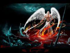 """Lúcifer: Significa """"estrela da manhã"""", """"estrela da alvorada"""" ou """"luz da alvorada"""", estando todas estas expressões associadas ao planeta Vênus que, antes da alvorada, aparece como a primeira fonte de luz do dia que esta para nascer. Ele é o mais belo, sábio e poderoso ser criado por Deus. Um querubim caído cujo exílio do reino de Deus se deveu à sua tentativa de usurpar o trono do seu pai e ser igual ou superior a Deus."""