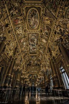 Plafond de l'Opéra Garnier, Paris