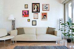 Inspire-se para fazer composições de quadros descoladas na sala