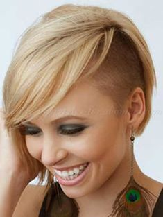 35.Half Shaved Pixie Cut
