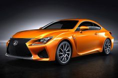 2015 Lexus RC F in an unnamed hue of orange. What would you call it? #Lexus wants your vote!