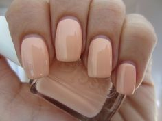 "Essie ""A Crewed Interest""-- the perfect nude nail"