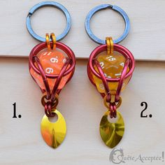 Pure Copper Dragon Métal Pendentif keychains porte-clés Brass Charms À faire soi-même Accessoires