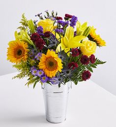 Daises with red and gold perfect for any occasion Just add a Sentiment
