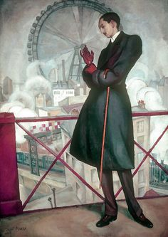 Diego Rivera, Portrait of Adolfo Best Maugard on ArtStack #diego-rivera #art