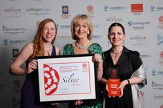 Big Awards for Small Visitor Attraction. Corinium Museum has won a Silver Award in the Small Visitor Attraction category at the prestigious Visit England Awards for Excellence 2013 Ceremony. www.coriniummuseum.org