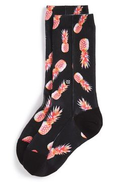 Stance+'Gone+Pineapple'+Socks+(Big+Kid)+available+at+#Nordstrom