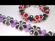 Crystal Beads, Crystals, Pandora Charms, Beadwork, Beaded Bracelets, Charmed, Rings, Youtube, Jewelry