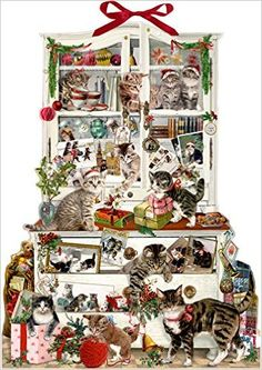 Zettelkalender - Katzen im Advent: Amazon.de: Barbara Behr: Bücher