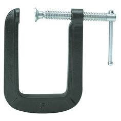 """Pittsburgh 45916 5"""" Deep Throat C-Clamp from Harbor Freight Tools — $4.99   Could be good for itajime shibori"""