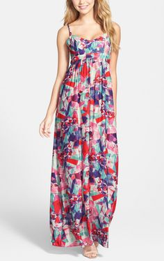 Can't wait to welcome spring in this pretty maxi!