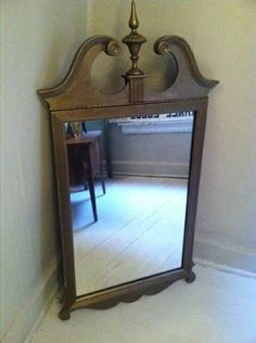 Acanthus Mirror | Antique painted furniture, Beautiful mirrors and ...